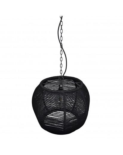 Hanglamp Rope - zwart