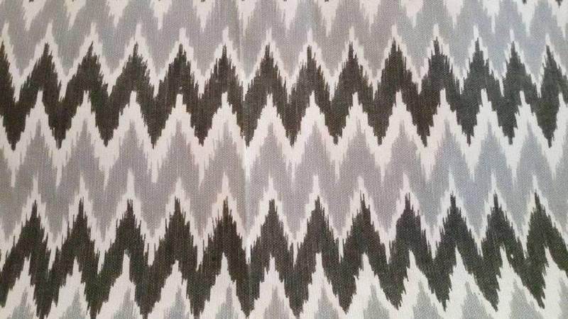 Kussenhoes Chevron - grijs