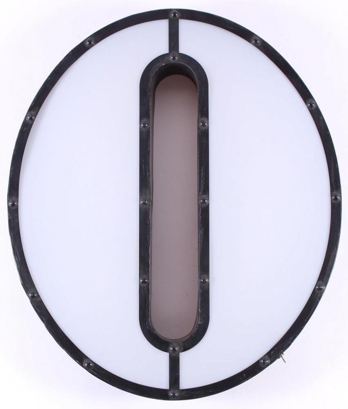 Led lamp letter O - large