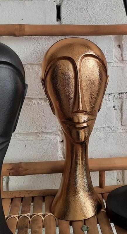 Head, goud - XL