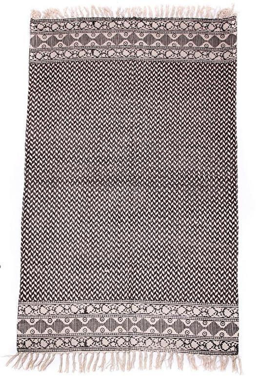 Vloerkleed - visgraat, 90x150