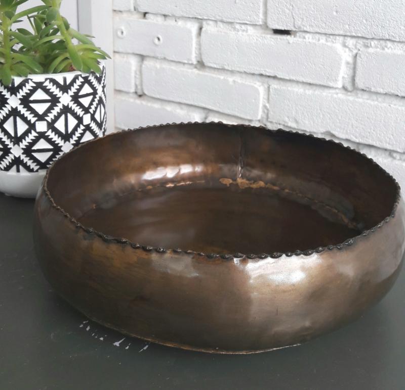 Schaal Gaja - brons, 23 cm