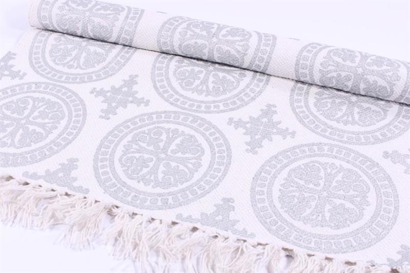 Vloerkleed Pattern - zilver