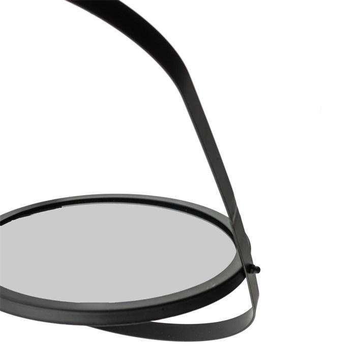 Spiegel, zwart - l
