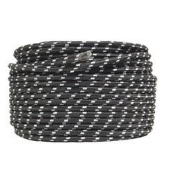305 Textielsnoer - zwart