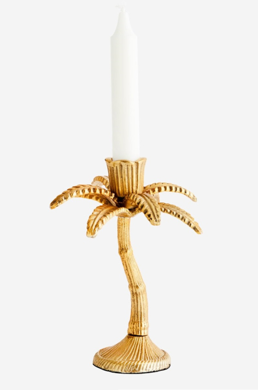 Kandelaar Palmboom - brons