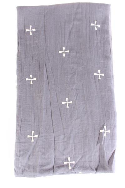 Sjaal Cross - grijs