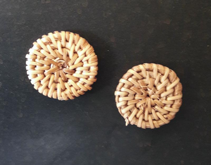 Magneet, riet Ø3cm