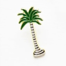 Fashion pin - palmboom