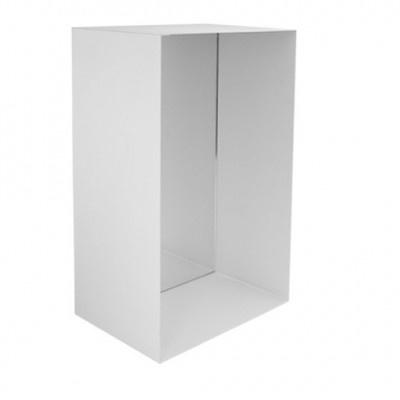 Spiegel box L - mat wit