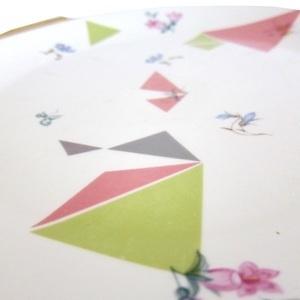 Porseleinstickers Big Triangle