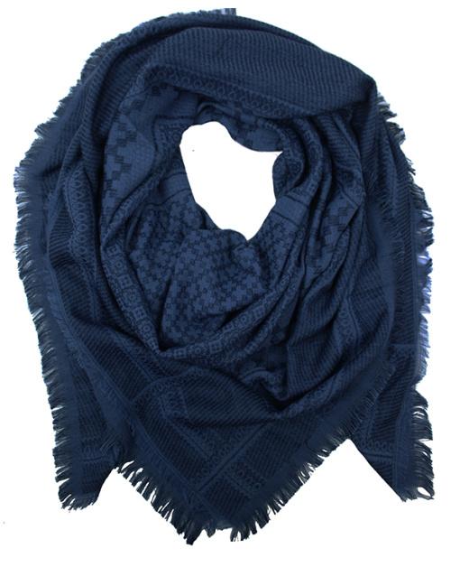 Sjaal Daria - donkerblauw