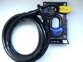 COMBI DEAL! Kabel 5 meter 2cm dik + ART 4* gekeurd hangslot