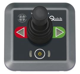 Quick bedieningspaneel, joystick