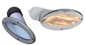 Boeg / neus verlichting (verstraler)RVS 316