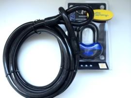 COMBI DEAL! Kabel 3 meter 2cm dik + ART 4* gekeurd hangslot
