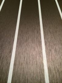 HPL plaat antraciet met licht grijze bies
