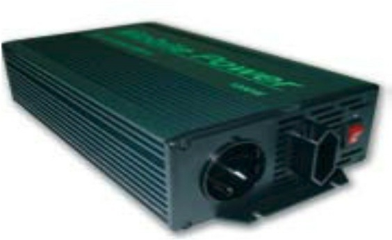 Omvormer 12 volt naar 600 watt