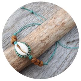 Armband 'Kauri' turquoise