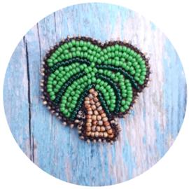 Broche 'palm'
