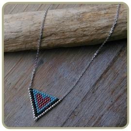 Ketting 'hart' echt zilver