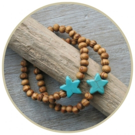Armband `STER` turquoise