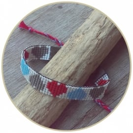 Armband 'Rough Hearts'