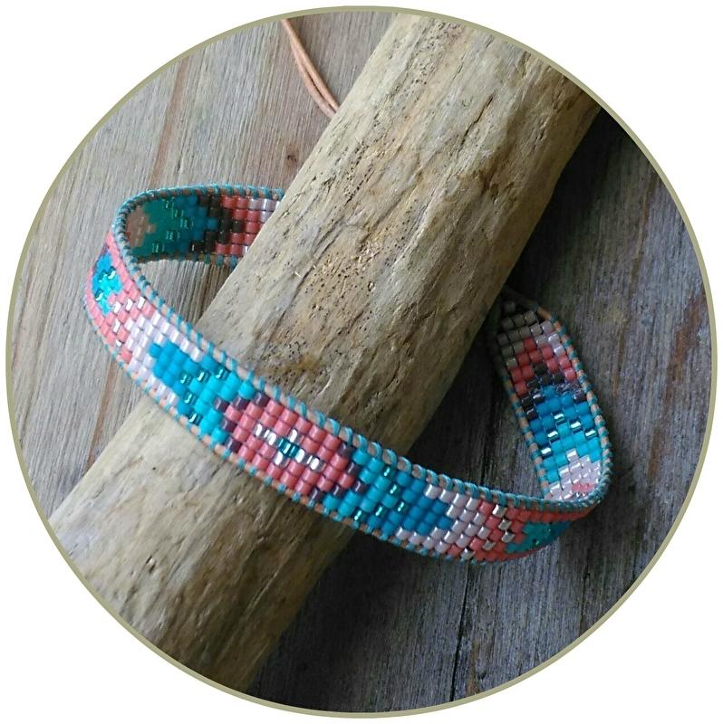 Armband 'Aqua Hippie'
