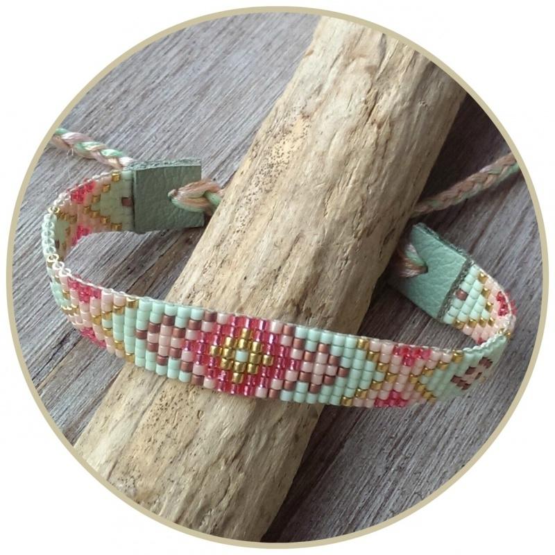Armband 'Pastel Hippie'