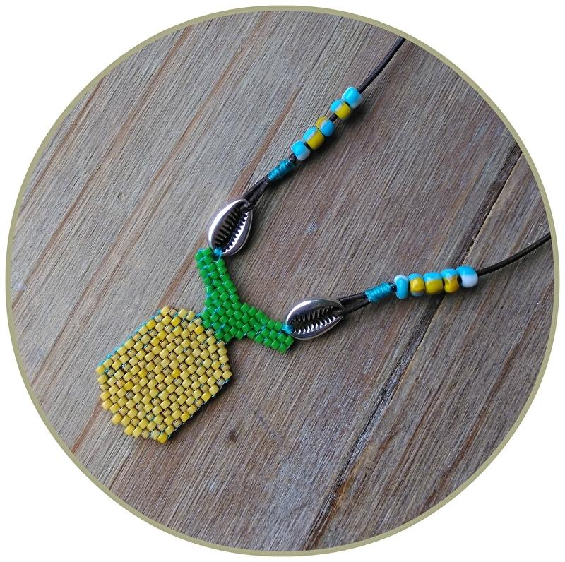 Ketting 'Pineapple Kauri'