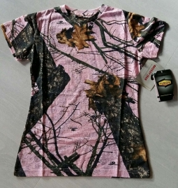 Yukon T-shirt burnout pink