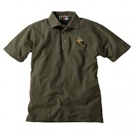 Polo shirt met fazant