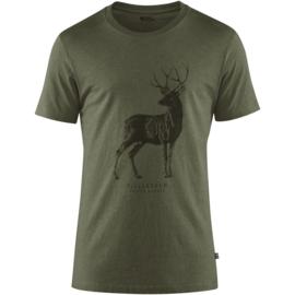 Fjall Raven T-shirt deer print