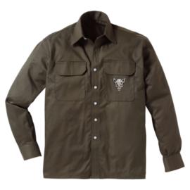 Jachtoverhemd met wild zwijn motief