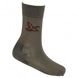 Lasting trekking sokken met eenden motief