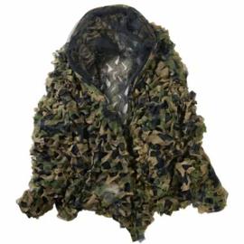 Camouflage net 3D, 150 X 400 cm.