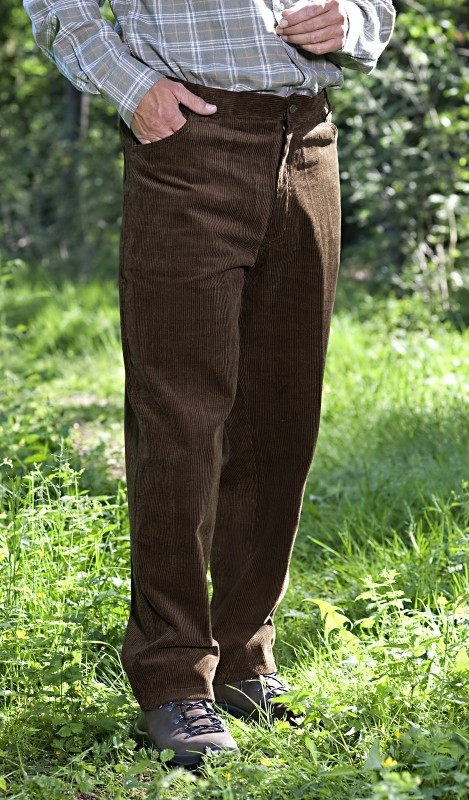 Ribcord broek