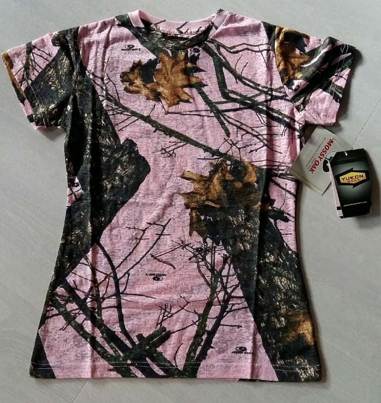 Yukon T-shirt Burnout Pink