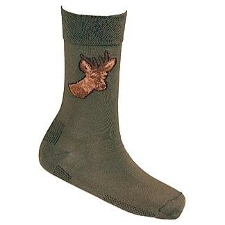 Lasting trekking sokken met ree motief