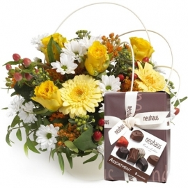 Bright blooms cadeauset