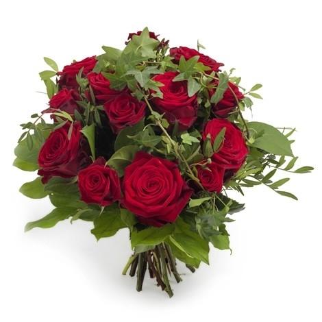 Recht uit het hart rozen