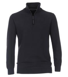 Casa Moda Sweatshirt Troyer blauw