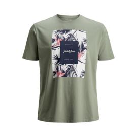 Jack & Jones T-shirt Florall Sea Spray