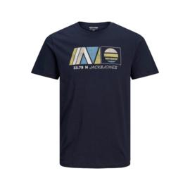 Jack & Jones T-shirt Navy print