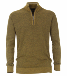 Casa Moda Sweatshirt Troyer geel