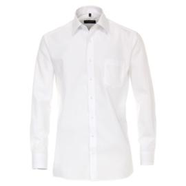 Casa Moda Overhemd Wit strijkvrij