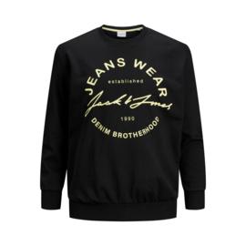 Jack & Jones Sweater zwart print