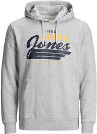 Jack & Jones Hoodie Grijs