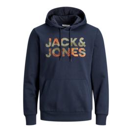 Jack & Jones Logo Sweat hoodie navy