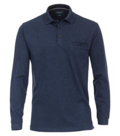 Casa Moda Poloshirt donker blauw